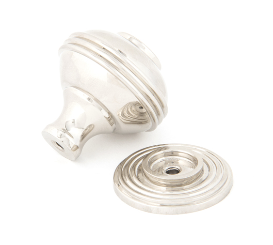 From The Anvil Polished Nickel Prestbury Cabinet Knob 38mm 83898 Image 2