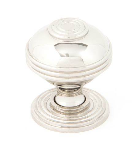 From The Anvil Polished Nickel Prestbury Cabinet Knob 38mm 83898 Image 1