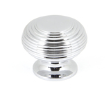 From The Anvil Polished Chrome Beehive Cabinet Knob 40mm 90336 Image 1 Thumbnail