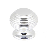 From The Anvil Polished Chrome Beehive Cabinet Knob 30mm 90337 Image 1 Thumbnail