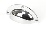 From The Anvil Polished Chrome 4 Inch Plain Drawer Pull 91523 Image 1 Thumbnail