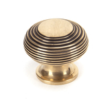 From The Anvil Polished Bronze Beehive Cabinet Knob 40mm 91947 Image 1 Thumbnail