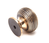 From The Anvil Polished Bronze Beehive Cabinet Knob 30mm 91948 Image 2 Thumbnail