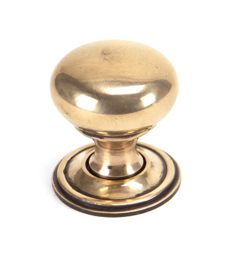 From The Anvil Polished Bronze Mushroom Cabinet Knob 32mm 91950 Image 1