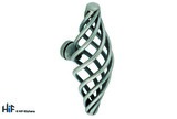 H080.74.CI Kitchen Knob Basket Weave T Shape Die-Cast Iron Image 1 Thumbnail