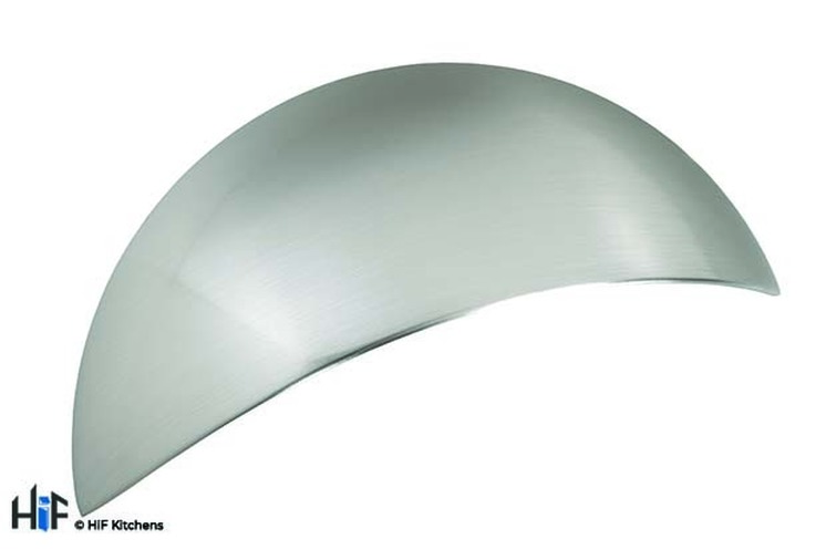 H1070.64.SS Hill Cup Handle Polished Stainless Steel Effect Image 1