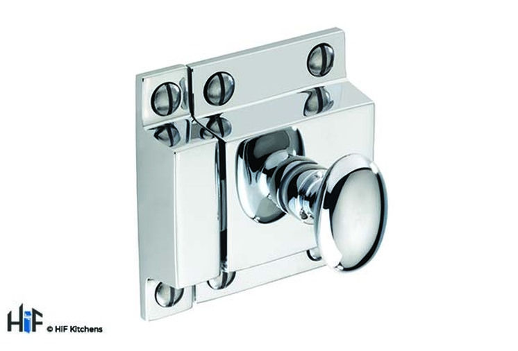 H1117.50.CH Cupboard Latch Handle Chrome 1909 Image 1