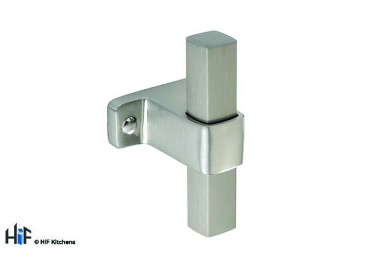 H1123.60.SS T-Bar Handle Stainless Steel Effect Image 1