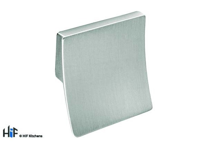 H423.32.BS Hyde Square Trim Handle Polished Stainless Steel Image 1