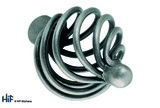 K083.32.CI Kitchen Knob Basket weave 32mm Die-Cast Iron Image 1 Thumbnail