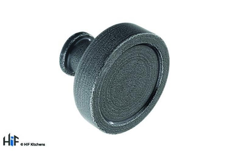 K1098.40.HS Kitchen Knob 40mm Hand forged Steel Image 1