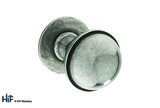 K1109.35.PE  Kitchen Knob With Stepped Detail 35mm Solid Pewter Image 1 Thumbnail