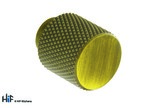 K1111.20.AGB Knurled Knob 20mm Aged Brass Image 1 Thumbnail