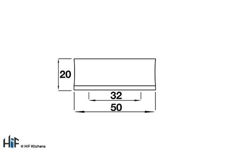 H423.32.BS Square Handle Die-Cast Brushed Steel Image 2