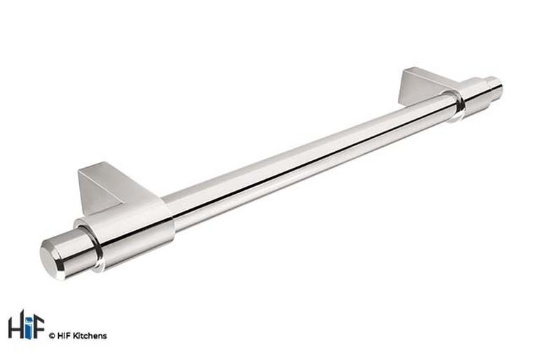 H1002.160.BN Kitchen Bar Handle 160mm Bright Nickel Image 1