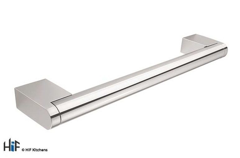 H109.188.CH Boss Bar Handle 14mm Diameter 188mm Long Chrome Image 1