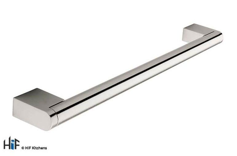 H121.1185.SS Boss Bar Handle 14mm Dia Stainless Steel Image 1