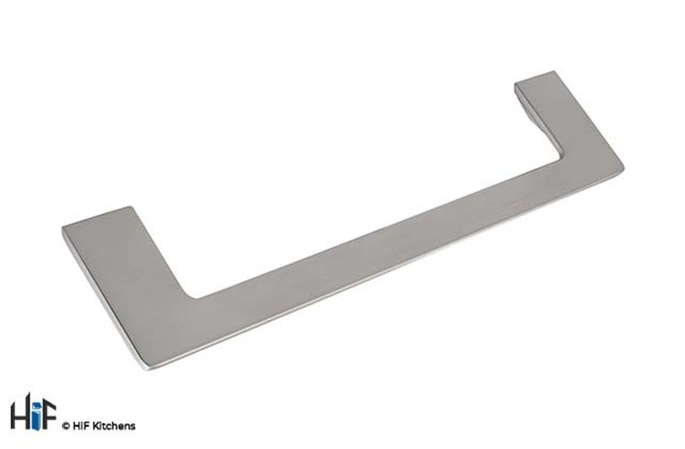 H1132.160.SS D Handle 180mm Wide Stainless Steel Image 1