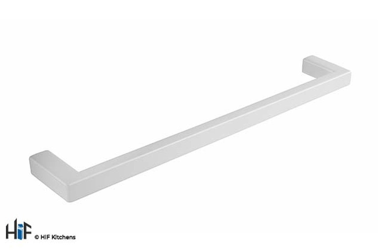 H1137.160.MW Kitchen Bar Handle 168mm Wide White  Image 1