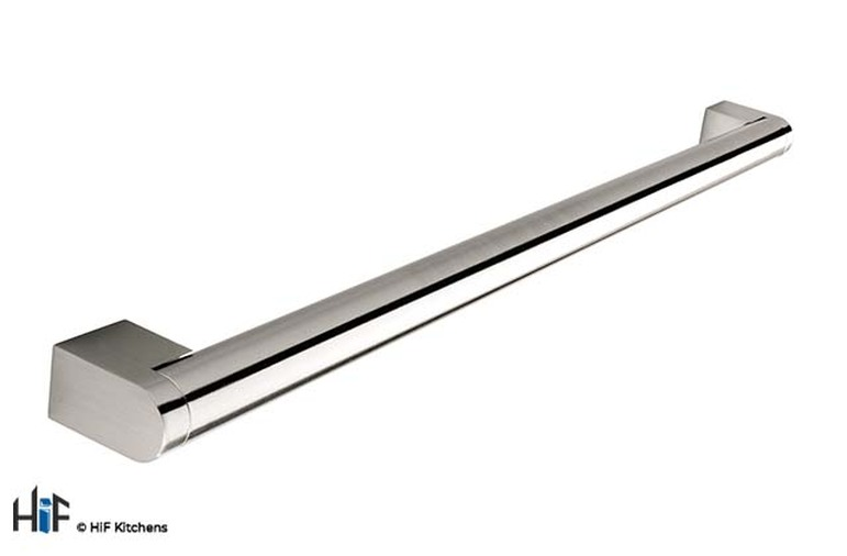 H197.237.SS  Thorpe Boss Bar Handle Brushed Stainless Steel Effect Image 1