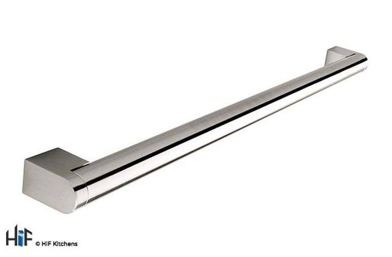 H200.537.SS Boss Bar Handle  Dia Stainless Steel Effect Image 1
