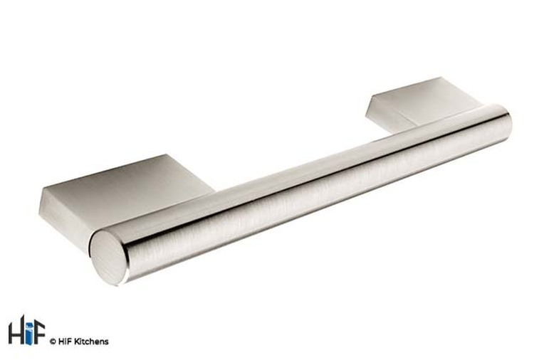 H508.160.SS Bar Handle Stainless Steel Effect Image 1