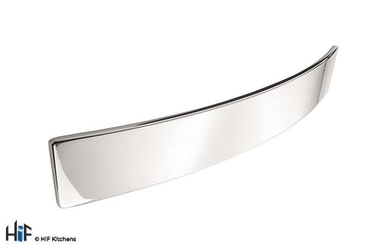 H556.160.CH Kitchen Bow Handle 160/192mm Chrome Effect Image 1