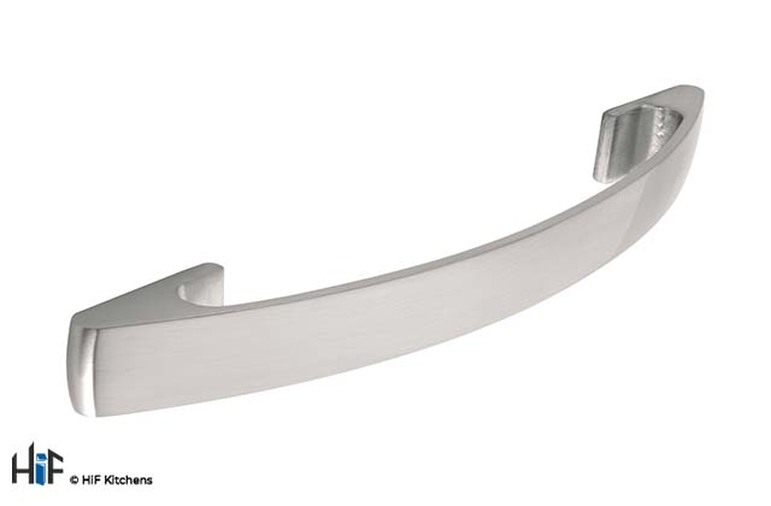 H585.128.SS Skelton Bow Handle Polished Stainless Steel Effect Image 1