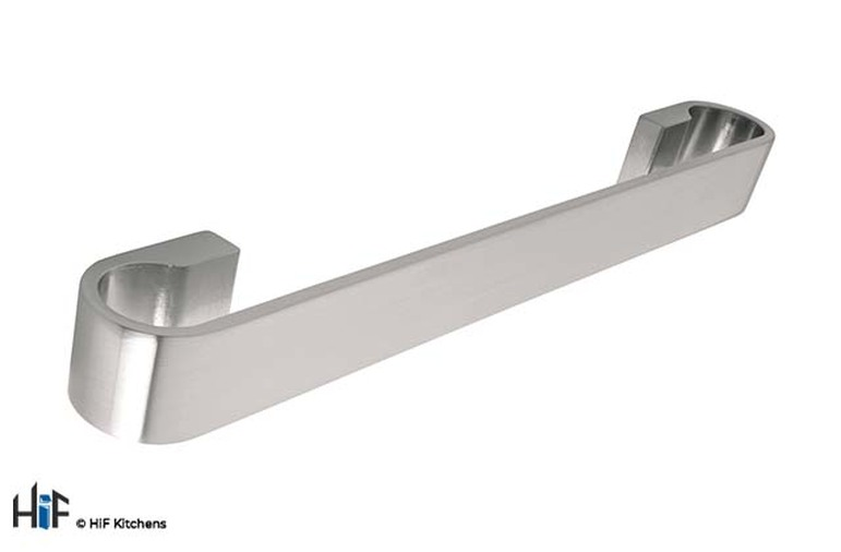 H586.160.SS Bow Handle Stainless Steel Effect Image 1