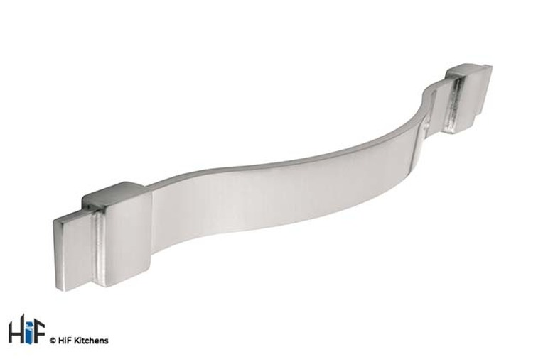 H587.160.SS Bow Handle Stainless Steel Effect Image 1