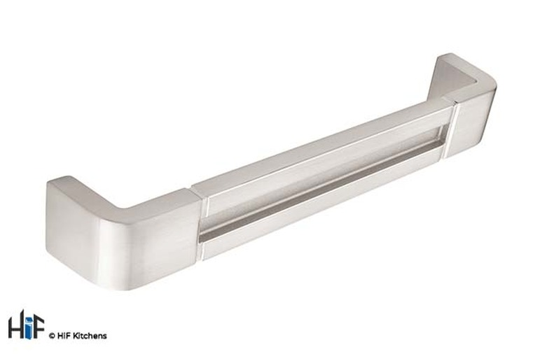H701.160.SS D Handle Stainless Steel Effect Image 1