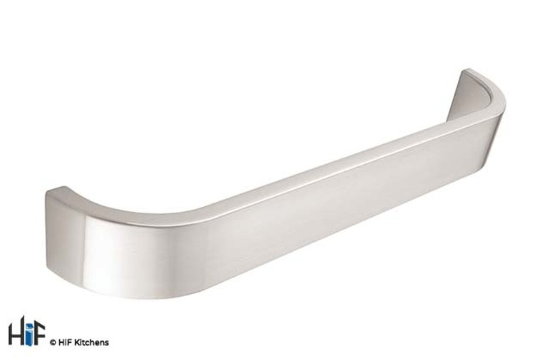 H721.224.SS D Handle Stainless Steel Effect Image 1
