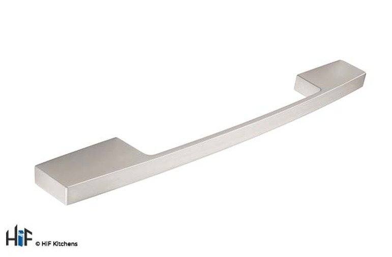 H733.160.SS Kitchen D Handle Stainless Steel Effect Image 1