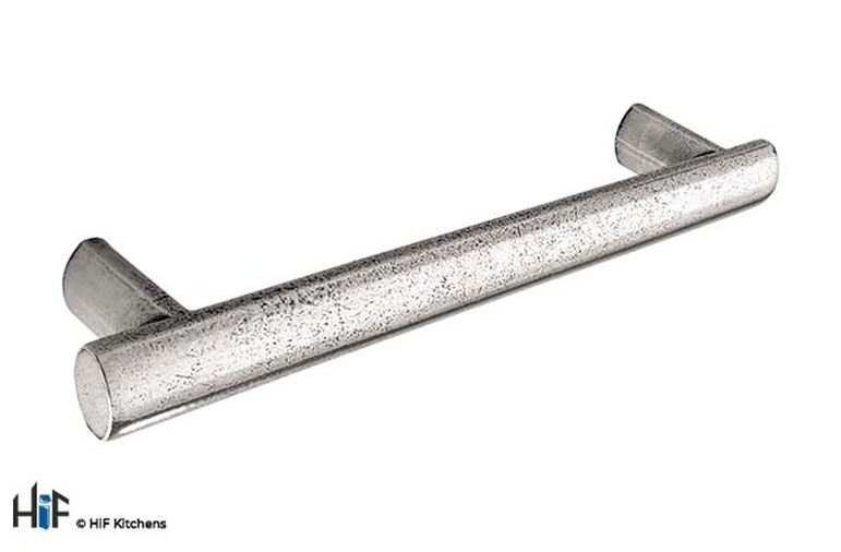 H784.224.PE Croxdale Oval Bar Handle 224mm Pewter  Image 1