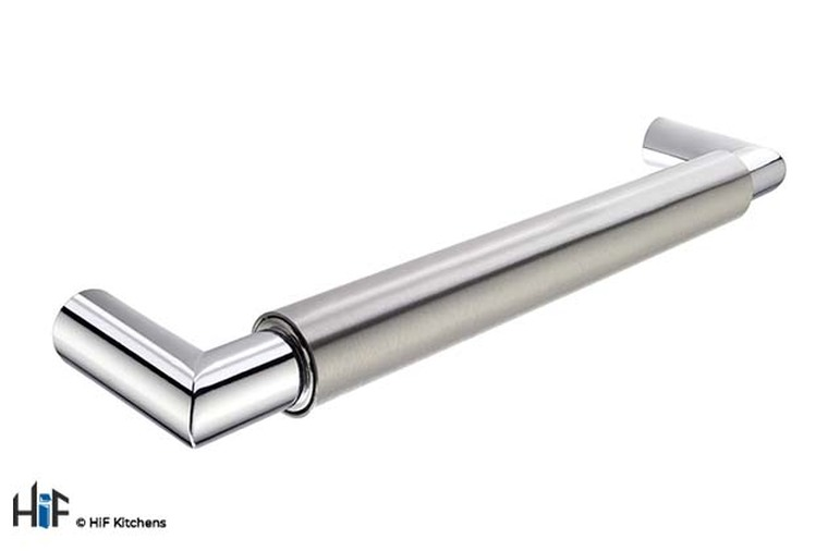H851.192.SSCH Hendon Bar Handle Brushed Stainless Steel Effect Image 1