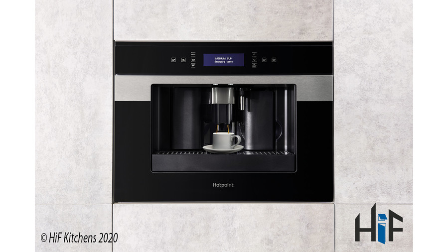 CM9945H Hotpoint Coffee Machine 45cm Class 9 Black Image 4