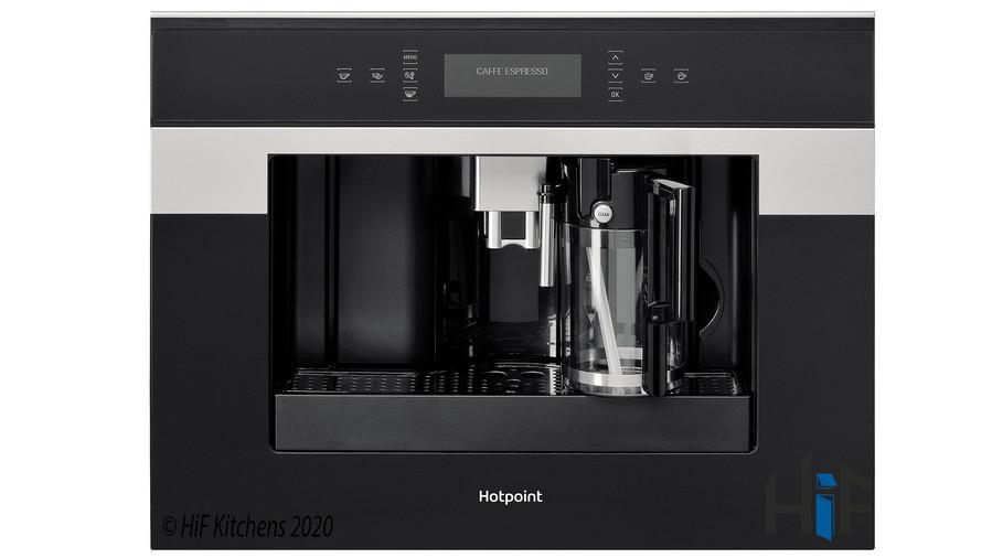 CM9945H Hotpoint Coffee Machine 45cm Class 9 Black Image 1