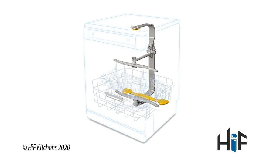 Hotpoint HIC3C26WF Int Dishwasher Image 5