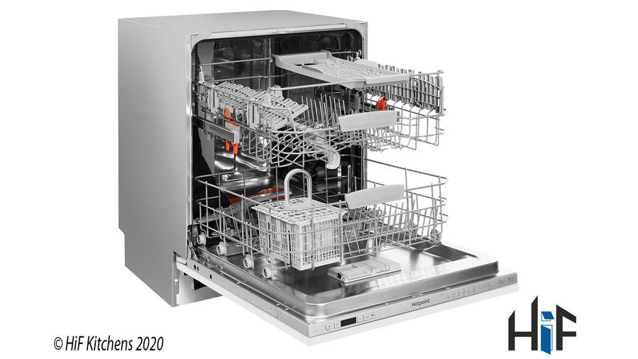 Hotpoint HIC3C26WF Int Dishwasher Image 4