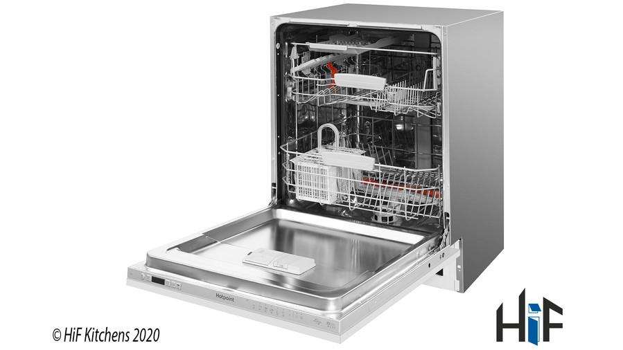 Hotpoint HIC3C26WF Int Dishwasher Image 3