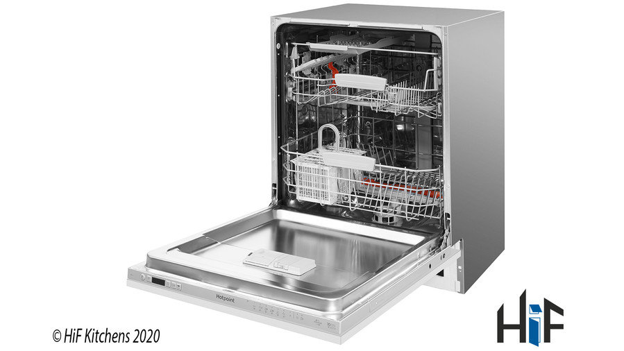 Hotpoint Ultima HIO 3C22 WS C Integrated Dishwasher Image 3