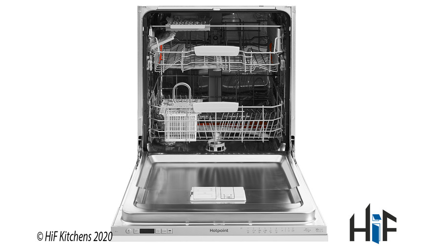 Hotpoint Ultima HIO 3C22 WS C Integrated Dishwasher Image 4