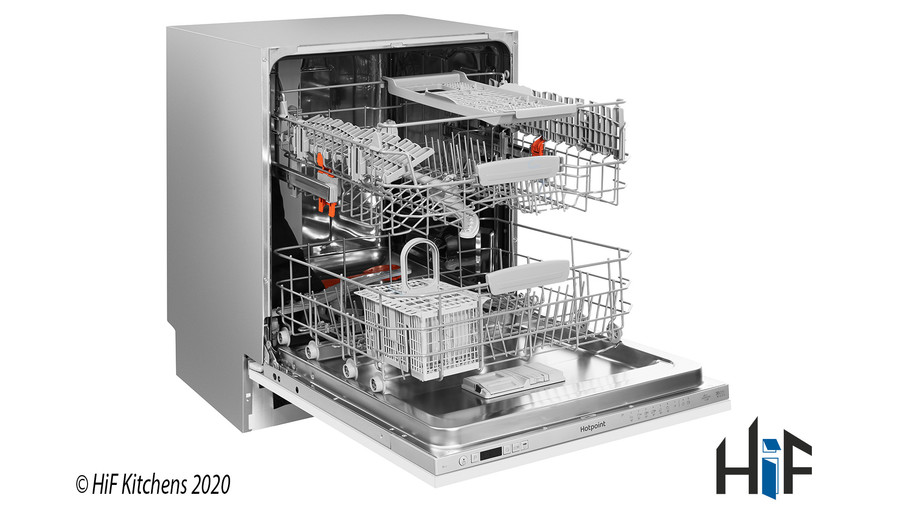 Hotpoint Ultima HIO 3C22 WS C Integrated Dishwasher Image 18
