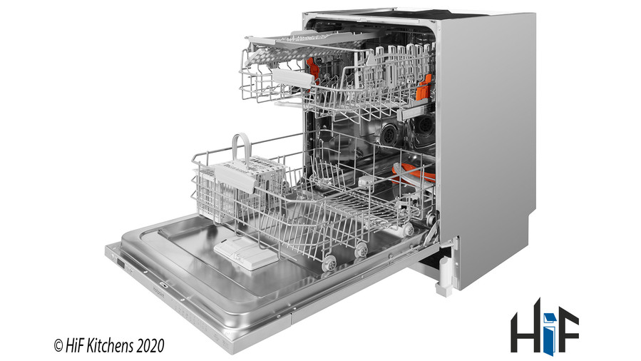 Hotpoint Ultima HIO 3C22 WS C Integrated Dishwasher Image 19