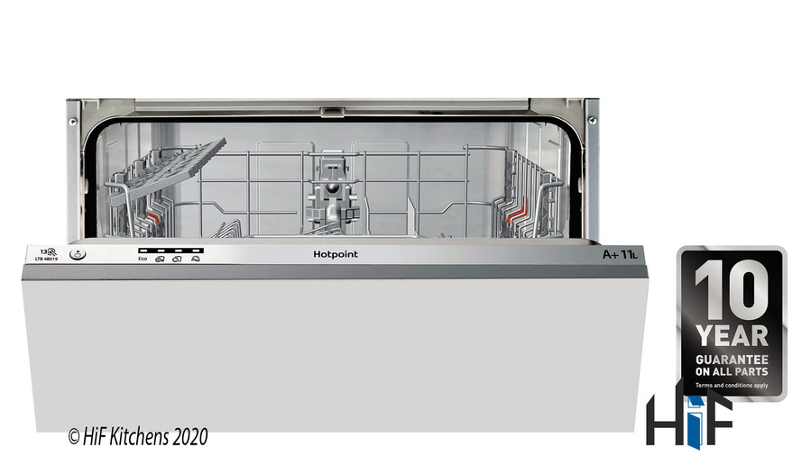 Hotpoint LBT4B019 60cm Integrated Dishwasher Image 2
