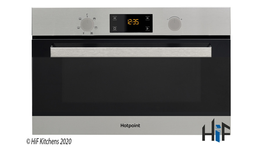 Hotpoint MD344IXH Built-In Microwave Oven With Grill Image 1