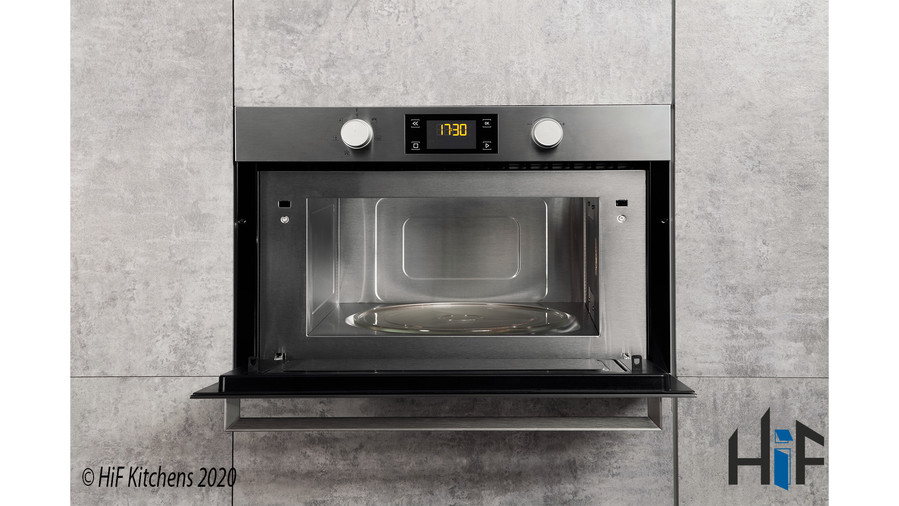 Hotpoint MD344IXH Built-In Microwave Oven With Grill Image 10