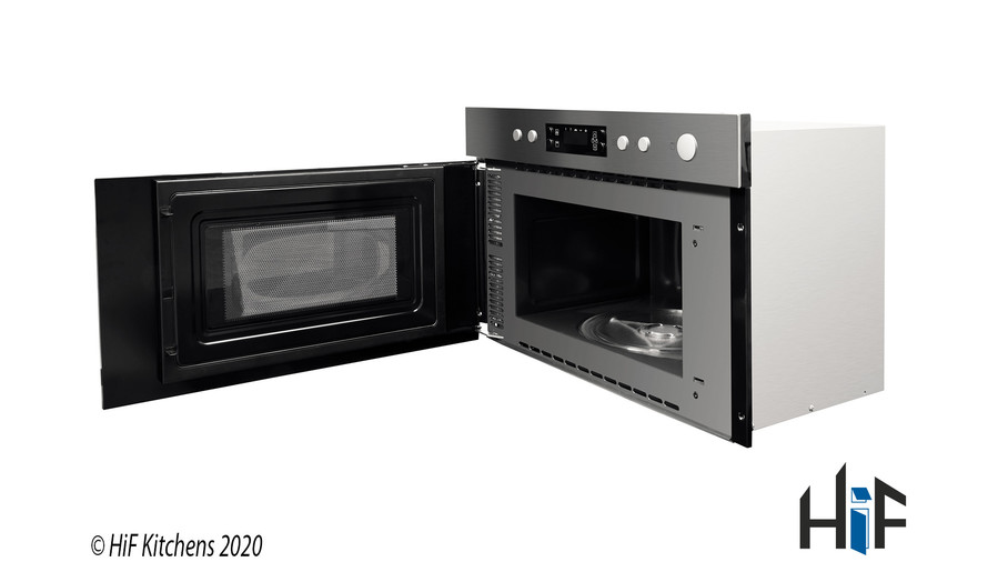Hotpoint Class 3 MN 314 IX H Built-In Microwave Image 3