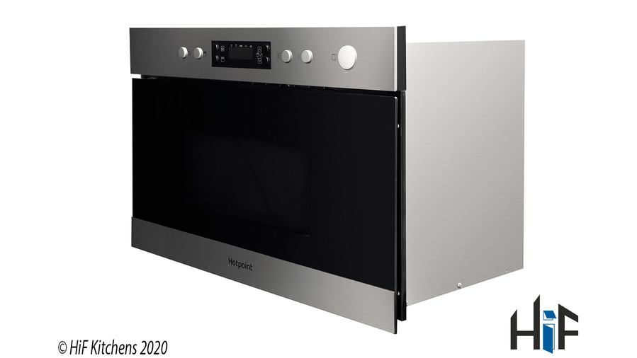 Hotpoint Class 3 MN 314 IX H Built-In Microwave Image 2