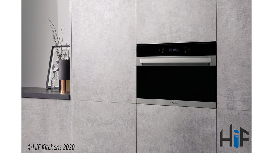 Hotpoint MP776IXH Combination Microwave Oven Image 2